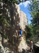 Rock Climbing Photo: MZ on Big Cat.