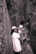 Rock Climbing Photo: Seth Dyer and Jeremy J Schlick