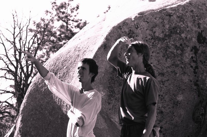 Rock Climbing Photo: Seth Dyer and unknown