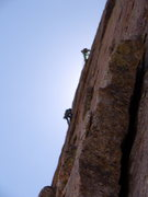 Rock Climbing Photo: Climbers on Pervertical - Saturday, August 14th.