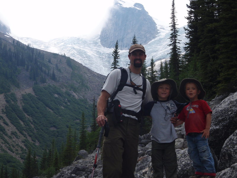 Me and the Boys at the Bugaboos