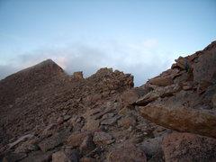 Rock Climbing Photo: Heading towards the Camel. 8/14/2010