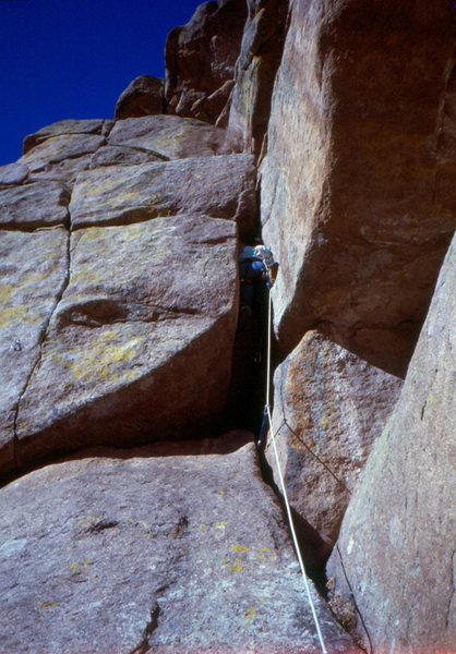 Rock Climbing Photo: Jim Shoemaker / Ain't No Puppy, 1998.