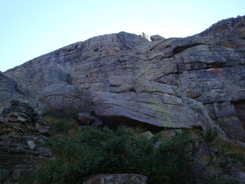Rock Climbing Photo: Krull is the right route in the pic,, Princess Sop...