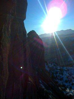 Rock Climbing Photo: Navajo Indian Reservation