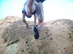 Rock Climbing Photo: Navajo Indian Reservation