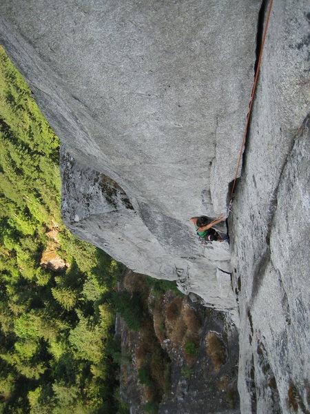 Rock Climbing Photo: Dr. Frirdich on pitch 2