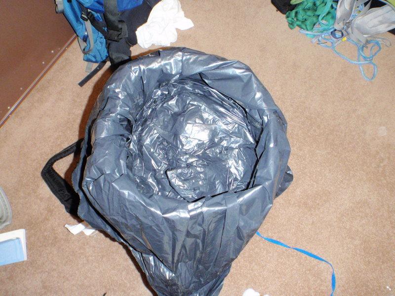 Gear in bag
