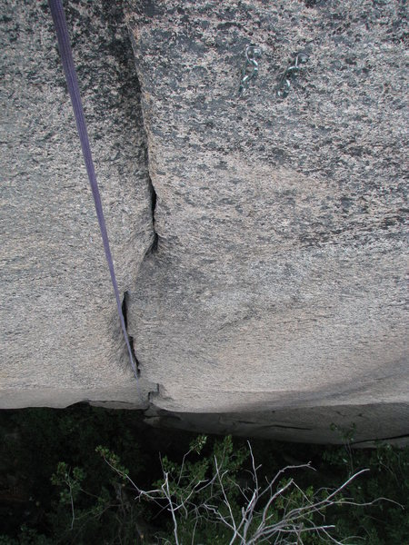 95 foot first pitch of Greenpeace, 5.11+/12a