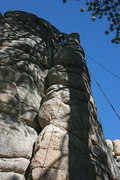 Rock Climbing Photo: Nathan's little sister on Easy Crack 5.8
