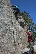 Rock Climbing Photo: Marina bouldering just off the road near Dinosaur ...