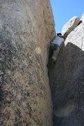 Rock Climbing Photo: Albert bouldering just off the road near Dinosaur ...