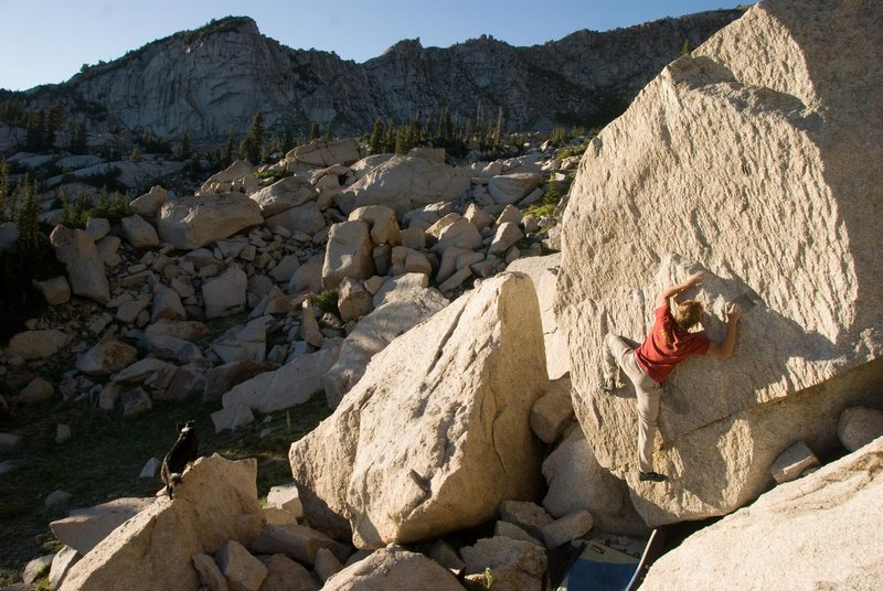 Rock Climbing Photo: This is ritual dance, v5,  and it's as great as it...
