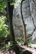 Rock Climbing Photo: Bryan Ferris sending Random Precision 11b. photo: ...