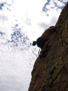 Rock Climbing Photo: Jeff back in business...