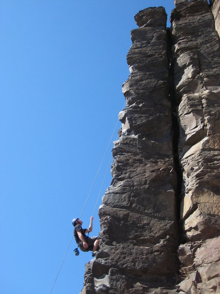 Rock Climbing Photo: ride 'em cowboy