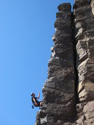 Rock Climbing Photo: ride 'em cowboy