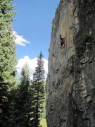 Rock Climbing Photo: Uckfay Ushbay 11a Lime Creek