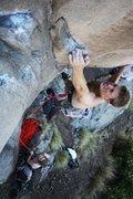 Rock Climbing Photo: Bryan Ferris on Black Rider. Photo by Joseph Lascu...