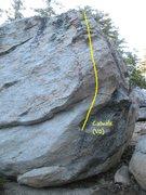 Rock Climbing Photo: Catwalk (V0), Tramway