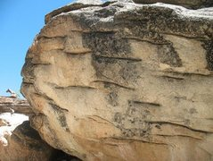 Rock Climbing Photo: One of the many boulders in the area, Castle Rock ...