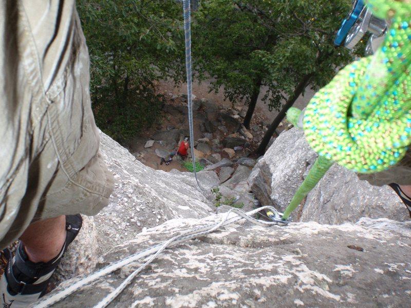 Gunks Mid Climb