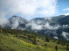 Rock Climbing Photo: Views from the basin below the NE Face.