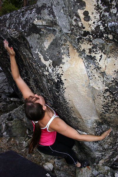 Rock Climbing Photo: The caramel thunderstones of Kings Canyon. This is...