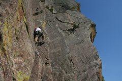 Rock Climbing Photo: blue bird