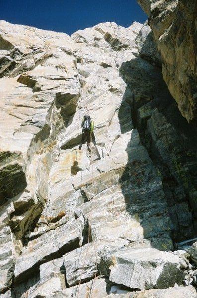 Rock Climbing Photo: Looooong rap