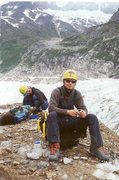Rock Climbing Photo: lairbee glacier