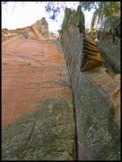 Rock Climbing Photo: Why do they call this climb Symmetry?