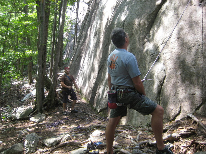 Rock Climbing Photo: Loran and I
