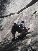 Rock Climbing Photo: Loran Climbing Seventh Seal
