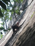 Rock Climbing Photo: Me on seveth seal