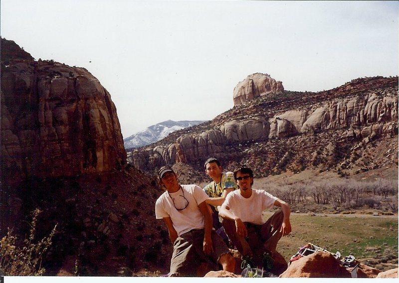 Rock Climbing Photo: Yeah!!!