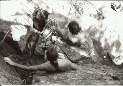 Rock Climbing Photo: Jeremy J Schlick and Seth Dyer.  An All Star tando...
