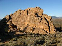 Rock Climbing Photo: Evening view of Beginner's Slab.