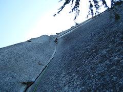 Rock Climbing Photo: Fingers, hands, fists!  The turducken of jamming p...