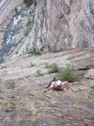 Rock Climbing Photo: Austin from Summit County clipping up the final he...