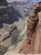 Rock Climbing Photo: Grand Canyon's awesome Toroweap look-out-  7/28/10...