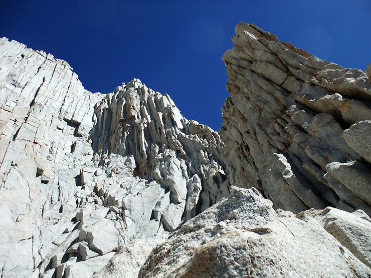 Rock Climbing Photo: starting up the arete