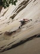 Rock Climbing Photo: Great lead Nick