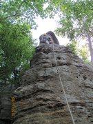 Rock Climbing Photo: High on the Arrowhead
