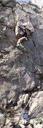 Rock Climbing Photo: Grant Moxham on 지옥문길 5...