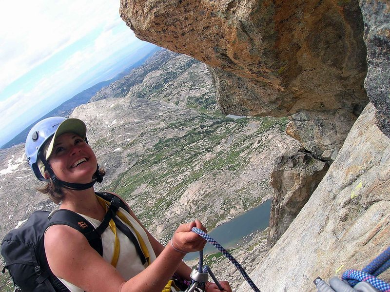 Rock Climbing Photo: climbing Elephant's Head