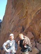 Rock Climbing Photo: new friends, via climbing
