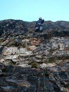 Rock Climbing Photo: Third pitch of Evil Eye