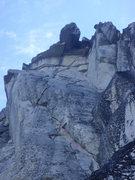 Rock Climbing Photo: Cobra's Head formation