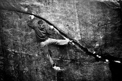 Rock Climbing Photo: Couple years ago, when I was stuck on the little t...